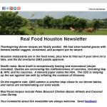 RFH Newsletter