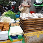 Tofu at Chinese market