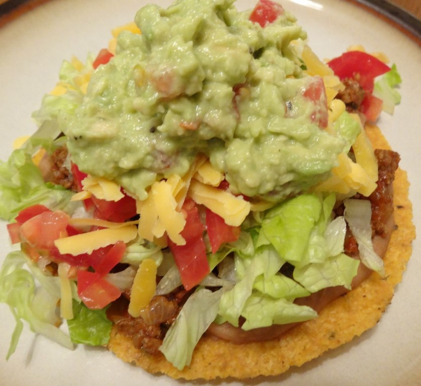 Here's how I made my grass-fed beef tostadas for New Year's Eve: