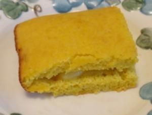 Buttered cornbread