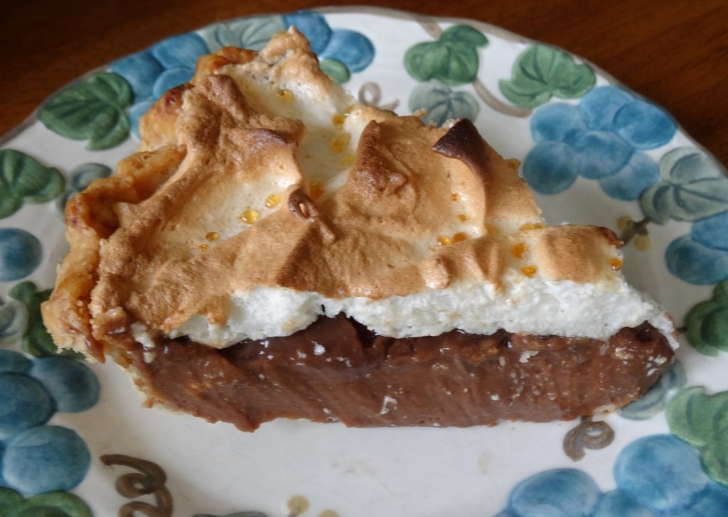 Piece of Chocolate Pie