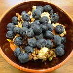 Paleo Granola with Blueberries