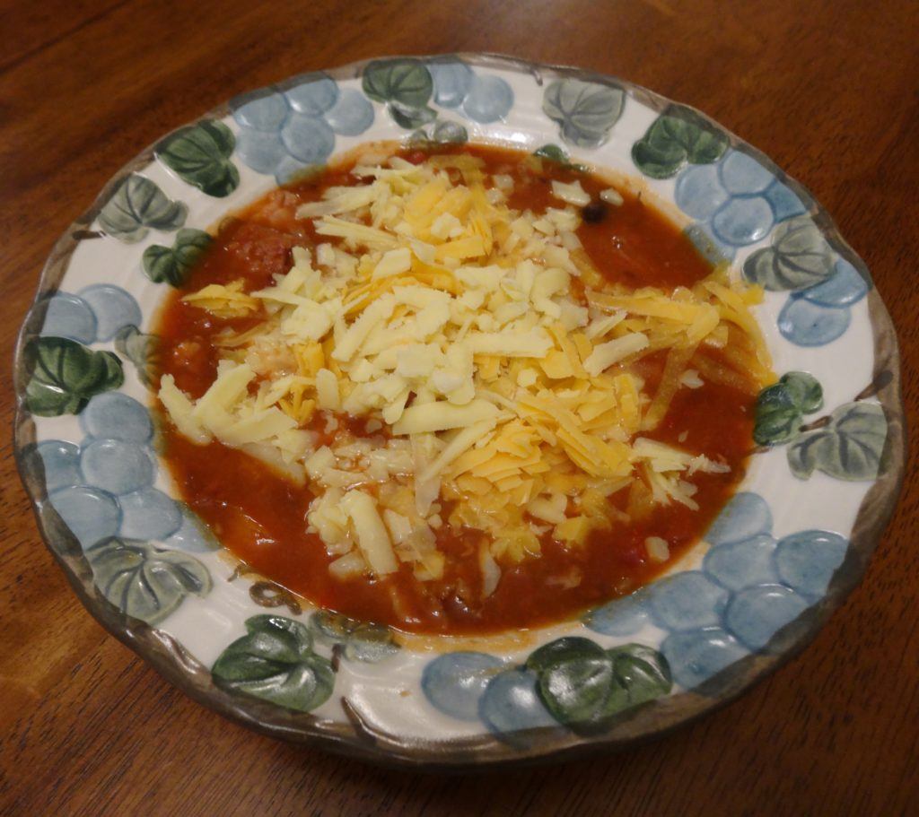 Bowl of Bean Soup